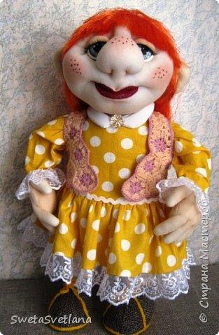 Это моя пятая кукла. Первые четыре уже подарены и фотографий не осталось фото 3