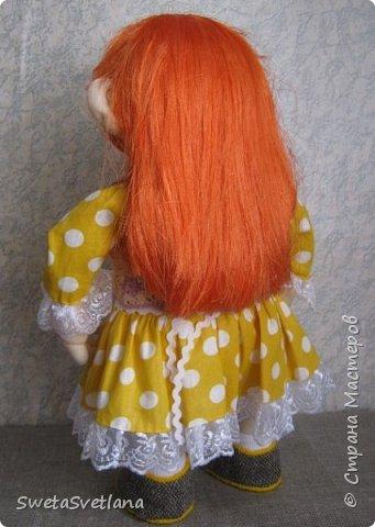 Это моя пятая кукла. Первые четыре уже подарены и фотографий не осталось фото 4