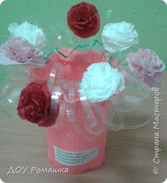 Вот такая оригинальная ваза с цветами фото 2