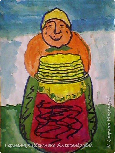 Наши рисунки- раскраски к Масленице(взяли из Интернета). фото 7