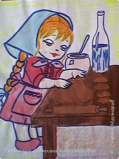 Наши рисунки- раскраски к Масленице(взяли из Интернета). фото 9