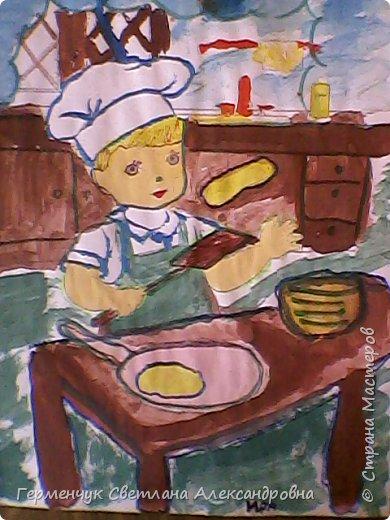 Наши рисунки- раскраски к Масленице(взяли из Интернета). фото 10