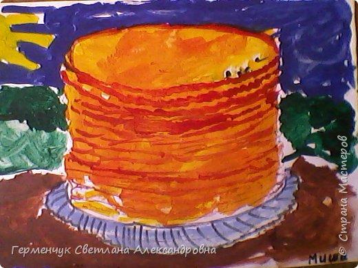 Наши рисунки- раскраски к Масленице(взяли из Интернета). фото 11