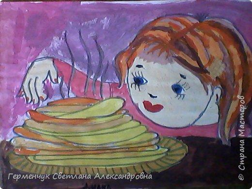 Наши рисунки- раскраски к Масленице(взяли из Интернета). фото 13