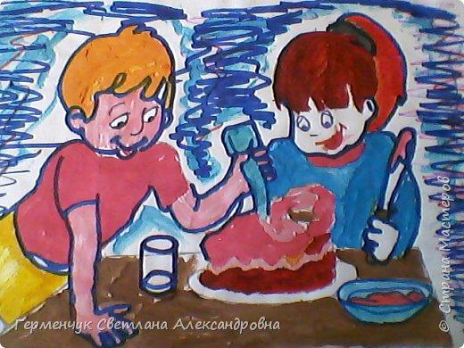 Наши рисунки- раскраски к Масленице(взяли из Интернета). фото 14