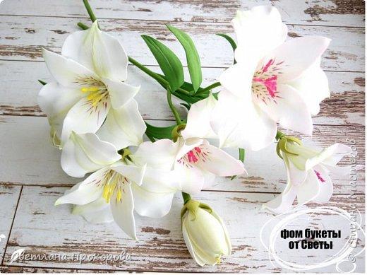 Цветы альстромерии фото 1