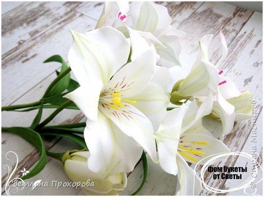 Цветы альстромерии фото 3