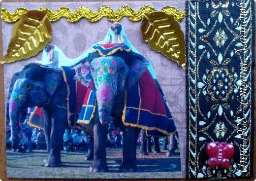 """Доброго времени суток, уважаемые мастерицы! Предлагаю вниманию участников Совместника-3 """"Вкусная география"""" http://stranamasterov.ru/node/1087039?c=favorite серию АТС «Слоны». В Индии слон считается священным животным, олицетворяя мудрость, благоразумие и силу. Именно поэтому слон – символ Индии. Слоны участвуют в свадебных церемониях и других торжествах. фото 6"""
