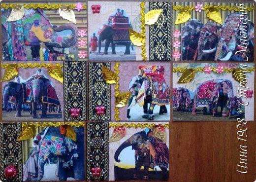 """Доброго времени суток, уважаемые мастерицы! Предлагаю вниманию участников Совместника-3 """"Вкусная география"""" http://stranamasterov.ru/node/1087039?c=favorite серию АТС «Слоны». В Индии слон считается священным животным, олицетворяя мудрость, благоразумие и силу. Именно поэтому слон – символ Индии. Слоны участвуют в свадебных церемониях и других торжествах. фото 1"""