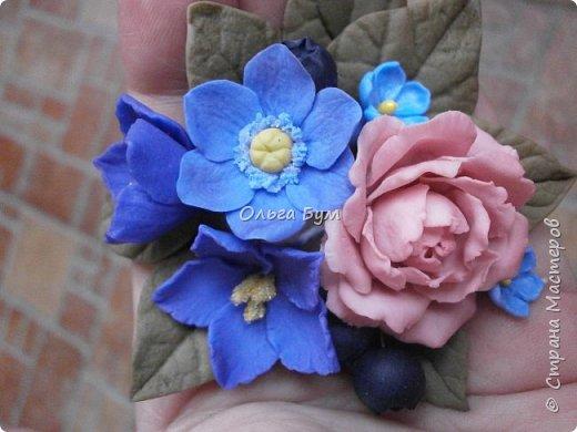 Бутоньерка № 2 с розой фото 5