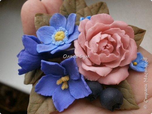 Бутоньерка № 2 с розой фото 7