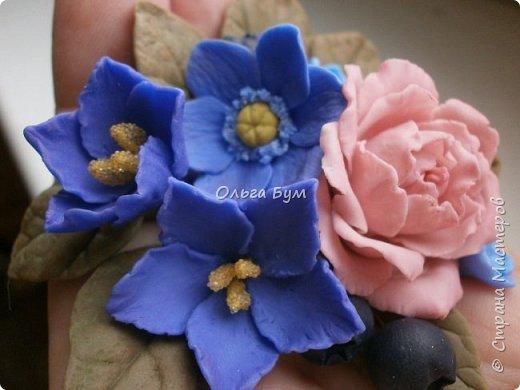 Бутоньерка № 2 с розой фото 8