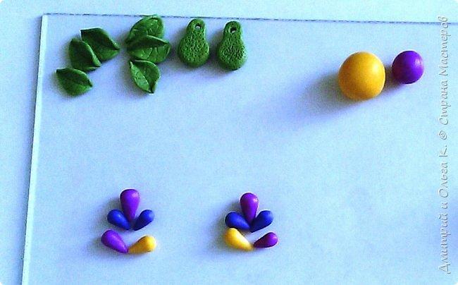 Простой МК сережек из полимерной глины.Немножко весны для настроения)))  фото 11