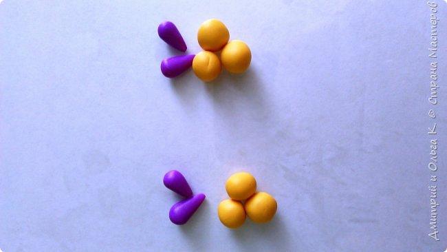 Простой МК сережек из полимерной глины.Немножко весны для настроения)))  фото 12