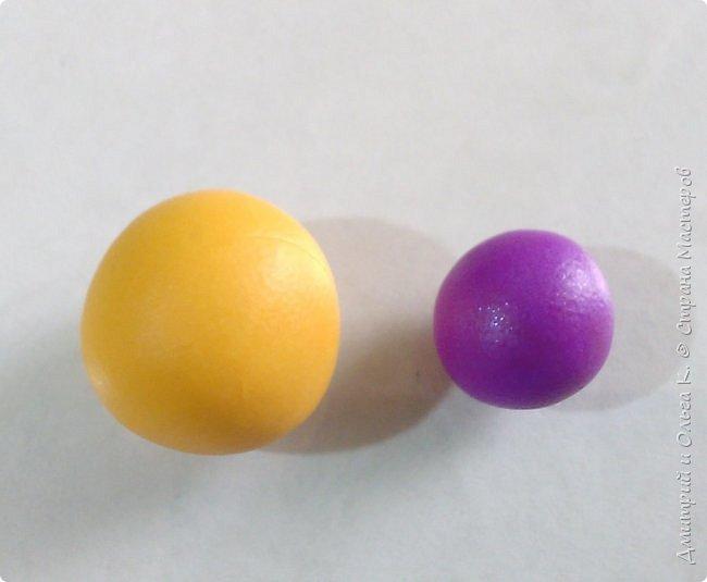 Простой МК сережек из полимерной глины.Немножко весны для настроения)))  фото 10