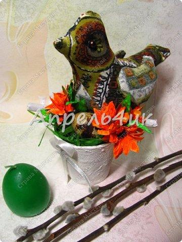 Каждый год к нам приходит большой и светлый праздник Пасхи.  Пасхальные украшения радуют нас, дарят тепло и уют дому. фото 4