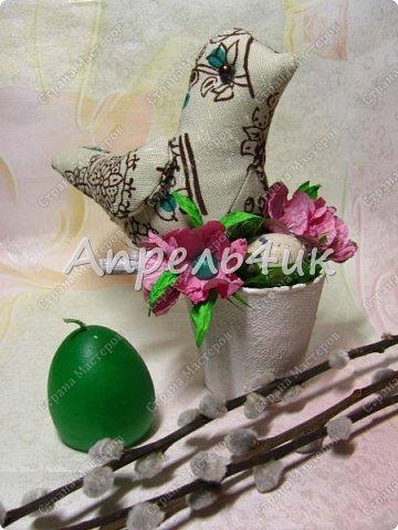 Каждый год к нам приходит большой и светлый праздник Пасхи.  Пасхальные украшения радуют нас, дарят тепло и уют дому. фото 5