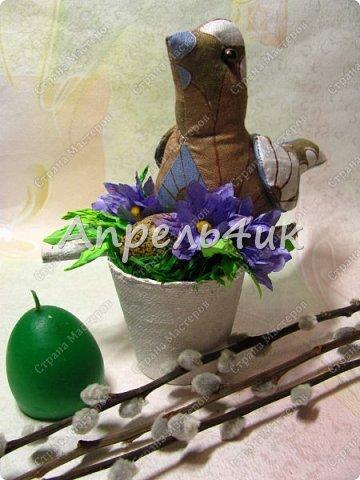 Каждый год к нам приходит большой и светлый праздник Пасхи.  Пасхальные украшения радуют нас, дарят тепло и уют дому. фото 7