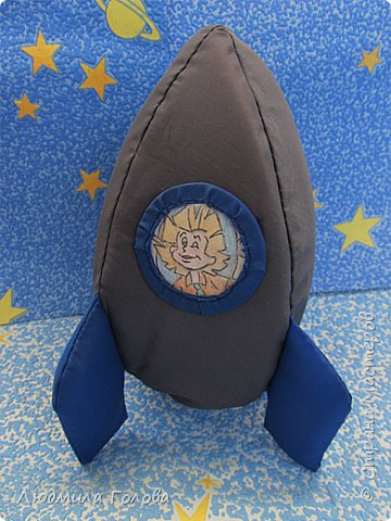 Ракета-игрушка, фоторамка и... фото 1
