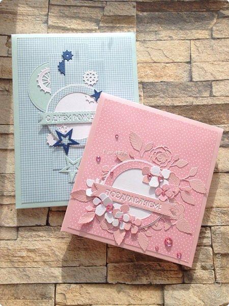 Коробочки для мальчика и девочки, у которых день рождения в один день, но они не двойняшки и не близнецы:) Поздравляю их и желаю Здравия ! Гармонии, любви! фото 1