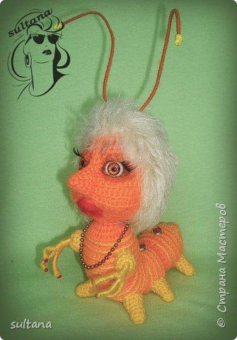 Знакомьтесь гусениц Пашка. В теле проволочный каркас. фото 12