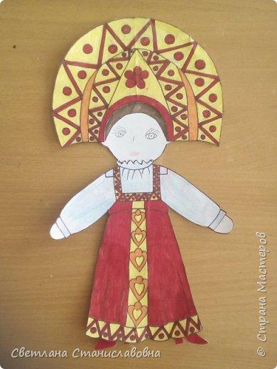 Для арт-проекта мы с учениками 1 класса выполнили фигурки детей. фото 9