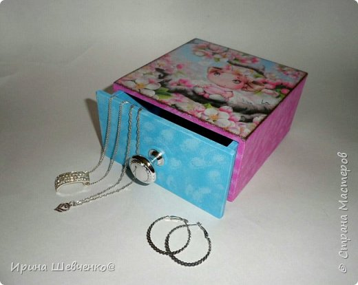 Шкатулки-комодики для детских мелочей) фото 1