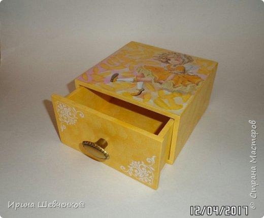 Шкатулки-комодики для детских мелочей) фото 3