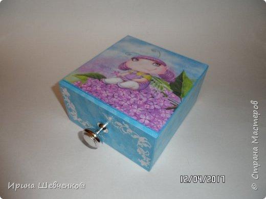 Шкатулки-комодики для детских мелочей) фото 2