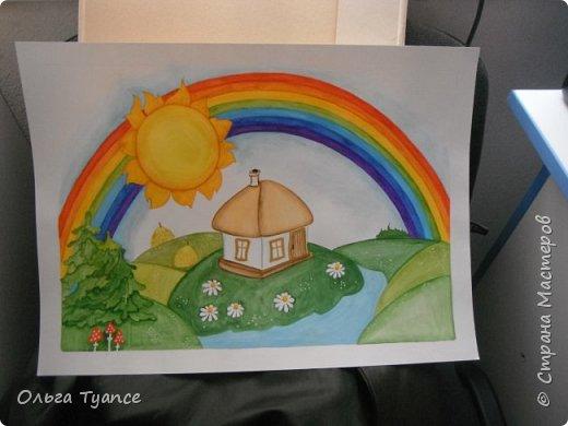 Рисунок в детский сад. фото 1
