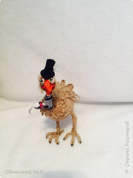 Приветствую!Карикатура на страуса,никак не желал фоткаться... фото 5