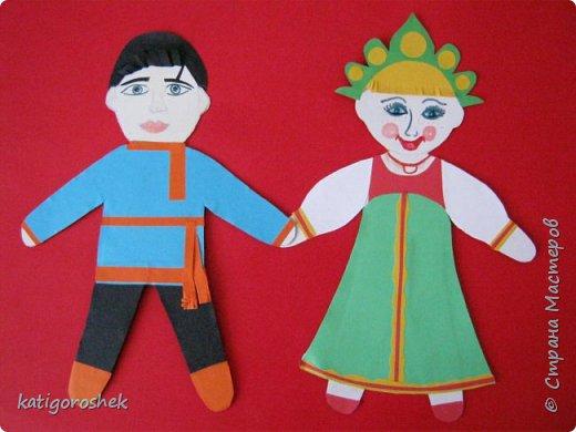 Такими появились дети в русском народном костюме.  фото 1