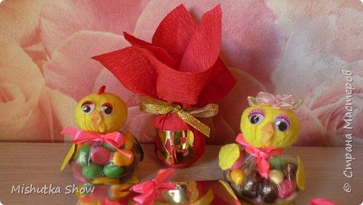Пасхальные поделки Сувениры на пасху Своими руками Пасхальные сувениры своими руками Цыплята из фетра Easter handmade фото 2