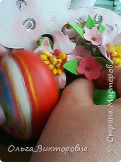 Совсем скоро светлый праздник Пасхи, и каждому хочется иметь красивую, оригинальную подставку для яиц. Желающие заняться декором собрались на мастер-класс.  фото 16