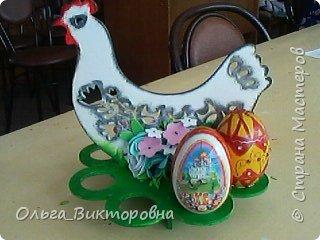 Совсем скоро светлый праздник Пасхи, и каждому хочется иметь красивую, оригинальную подставку для яиц. Желающие заняться декором собрались на мастер-класс.  фото 21