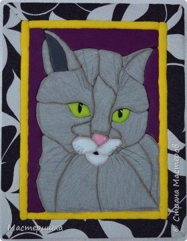 Добрый день ВСЕМ! В последнее время мы много работали над серией картин с животными, а между делом появлялись такие небольшие работы))) Вот так и случился этот пост. Коты - любимые животные Ксюши! фото 1