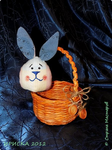 Приветствую всех гостей моей странички!!! Поздравляю с наступающим светлым праздником Пасхи!!! Желаю здоровья, уюта, душевного тепла и благополучия!!! Я сегодня к вам с компанией зайчиков, курочкой и маленькими корзинками. фото 36