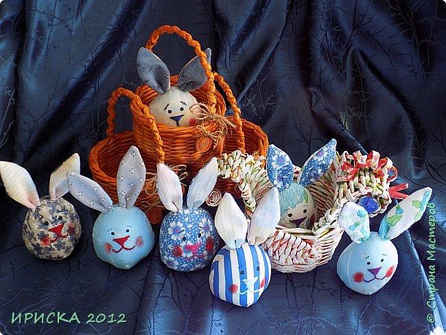 Приветствую всех гостей моей странички!!! Поздравляю с наступающим светлым праздником Пасхи!!! Желаю здоровья, уюта, душевного тепла и благополучия!!! Я сегодня к вам с компанией зайчиков, курочкой и маленькими корзинками. фото 38