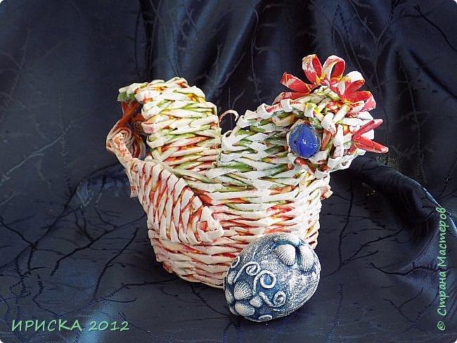 Приветствую всех гостей моей странички!!! Поздравляю с наступающим светлым праздником Пасхи!!! Желаю здоровья, уюта, душевного тепла и благополучия!!! Я сегодня к вам с компанией зайчиков, курочкой и маленькими корзинками. фото 11