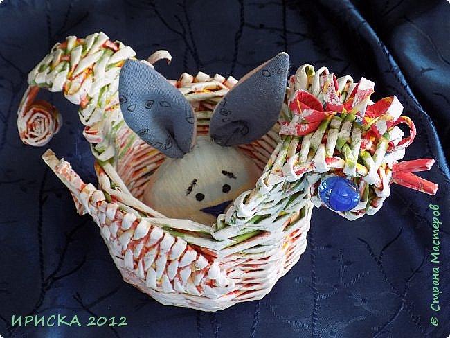 Приветствую всех гостей моей странички!!! Поздравляю с наступающим светлым праздником Пасхи!!! Желаю здоровья, уюта, душевного тепла и благополучия!!! Я сегодня к вам с компанией зайчиков, курочкой и маленькими корзинками. фото 8
