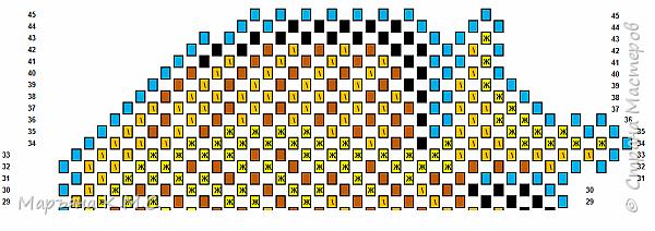 Вот такую яркую рыбку я сложила. Опять использовала диагональную технику складывания. Мне эта техника всё больше нравится. фото 36