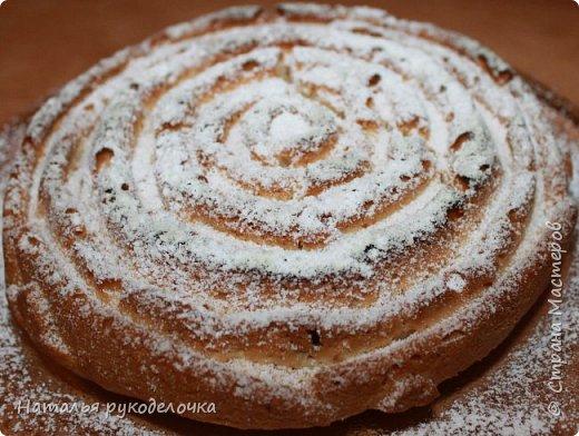 """Добрый день, Страна Мастеров! Сегодня я к вам с пирогом. Купила новую силиконовую форму для выпечки в виде розочки. Значит пирог будет называться """"Роза"""". Тесто на подобие манника. фото 1"""