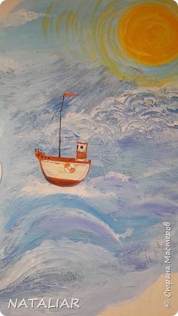 Роспись стен в детском саду акриловыми красками. фото 6