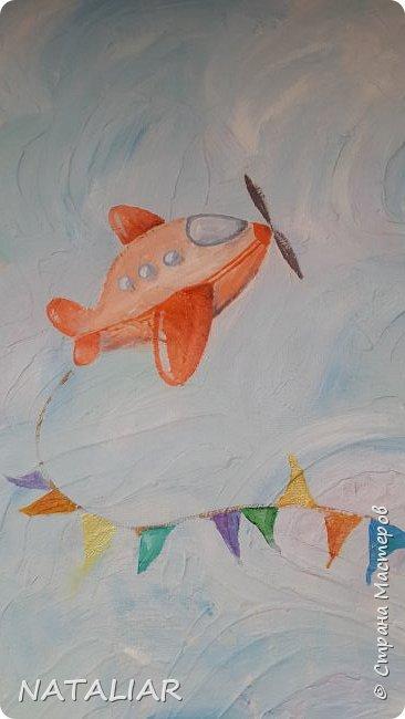 Роспись стен в детском саду акриловыми красками. фото 5