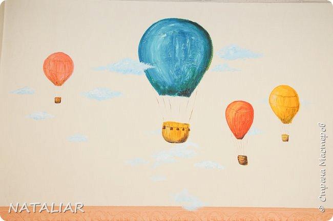 Роспись стен в детском саду акриловыми красками. фото 2