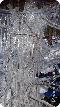 Пошли гулять в зимний денек, а у нас под окном Снежная королева нахулиганила фото 4