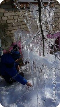 Пошли гулять в зимний денек, а у нас под окном Снежная королева нахулиганила фото 5