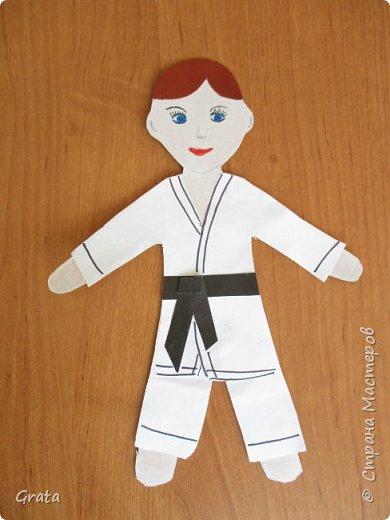 Мальчик в кимоно. Автор: Никитин Игорь, 2 класс