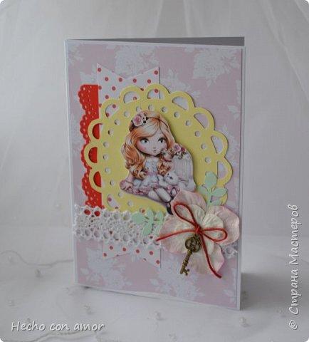 Сначала свадебные открытки Эта моя любимая:))) фото 23