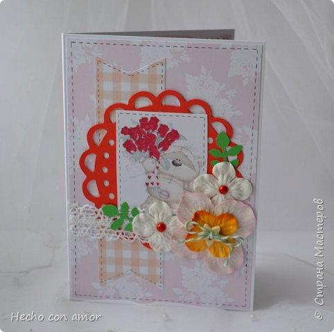 Сначала свадебные открытки Эта моя любимая:))) фото 24